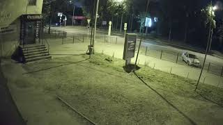 Видеокамера IP IVM-8328-POE. 4K(3840x2160), SONY IMX274, HI3519, 3.6mm, POE. Улица, ночь.
